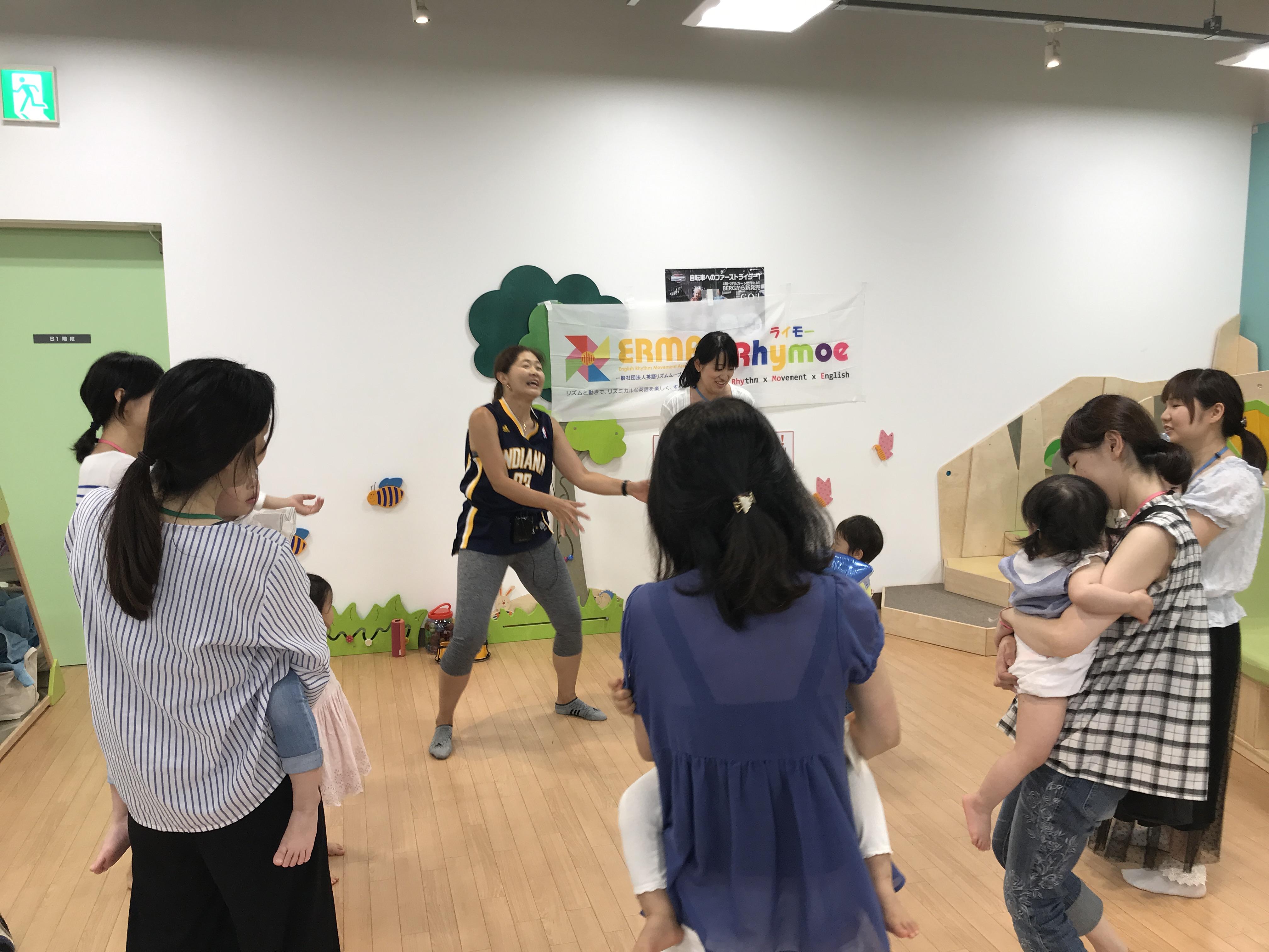Rhymoe定期講座@アネビートリムパーク神戸