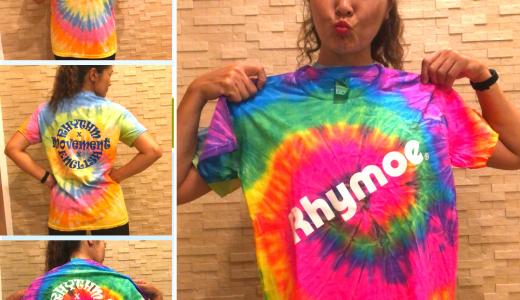 Rhymoe Tシャツ販売開始!